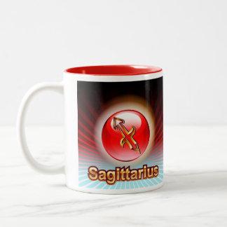 MUG CUSTOM ZODIAC SAGITTARIUS RED
