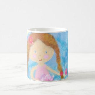 Mug, Cute Girl Coffee Mug