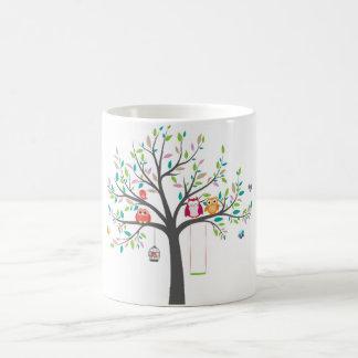 Mug -- Cute Owls in tree