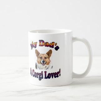 Mug Dad's a Corgi Lover OC