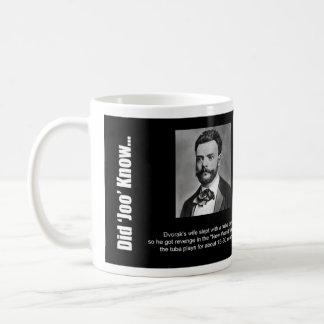 "Mug: ""Did Joo Know..."" - Dvorak Coffee Mug"