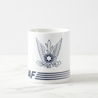 Mug emblem IAF - ISRAELITE AIR FORCES
