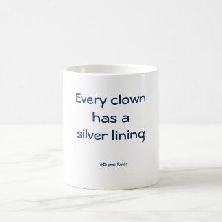 Mug: Every clown has a silver lining Basic White Mug