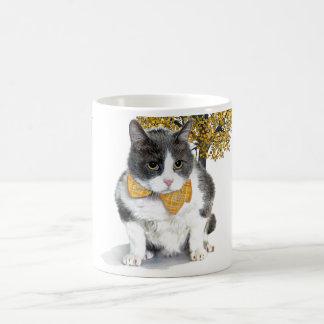 mug:  Felix, the cat, in October Coffee Mug