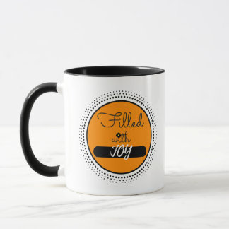 Mug, Filled With Joy Inspirational Mug