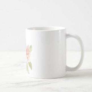 Mug, Flower, Watercolor Basic White Mug