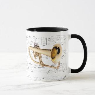 Mug - Flugelhorn with sheet music