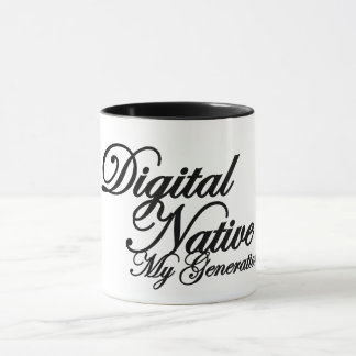 Mug for DIGITAL NATIVE