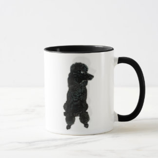 Mug French Poodle Cafe au lait
