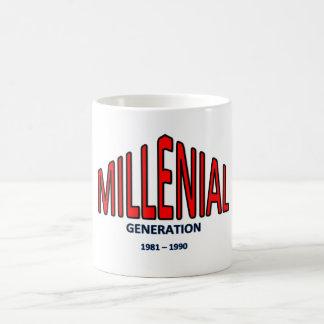 """Mug generation Y - """"Millennials"""""""