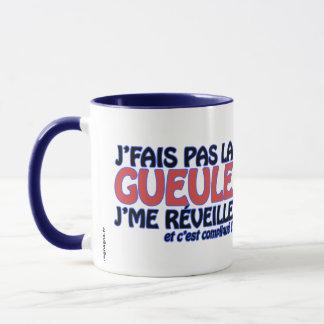 """Mug """"Grumpy Ragnagna"""" (version for left-handed"""