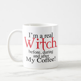 mug half Coffee Witch