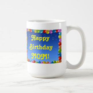 Mug Happy Birthday MOM