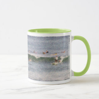 Mug Hawaiian surfers vintage styling
