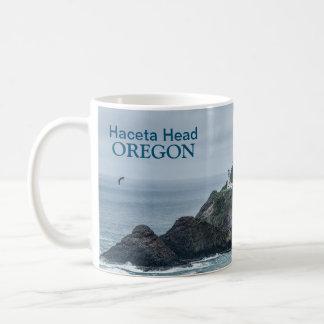 Mug: Hecata Head Lighthouse Basic White Mug