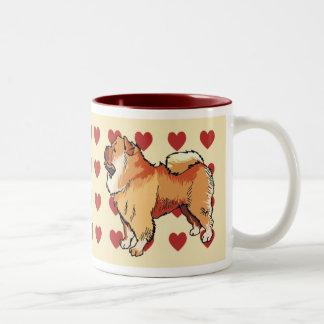 Mug - I love chow chow dogs