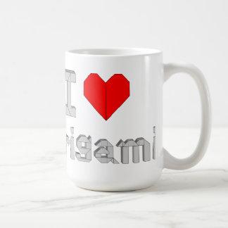 """Mug """"I Love Origami """""""