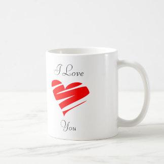 Mug. I love you. Coffee Mug