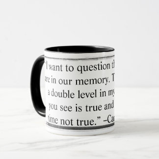 Mug I want to question the images quote Keyzer