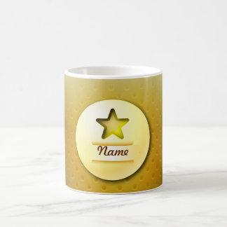 Mug icon gold star