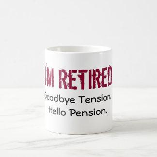 Mug- I'm retired Coffee Mug