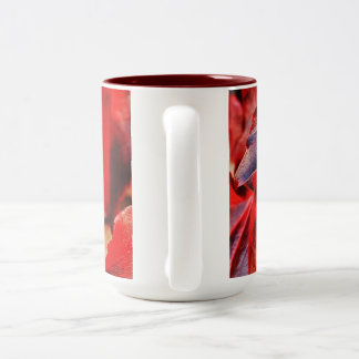 Mug in Abstract Fall Leaves