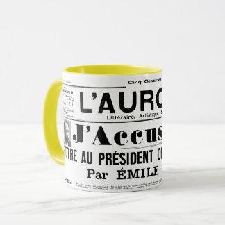 mug J'accuse Emile zola
