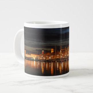 Mug Jumbo Marseille - Le vieux port (nuit)