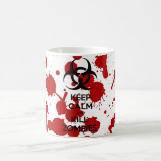 Mug Keep Calm And Kill Zombies