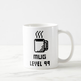 Mug Level 99 8-bit Pixel Art Mug