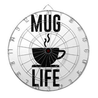 Mug Life Dartboard With Darts