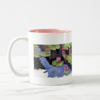 Mug, Lilly pads