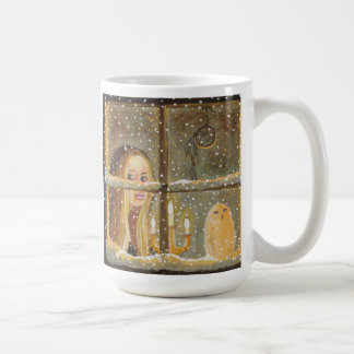 """Mug - """"Long Winter Nights"""" by Artist Carol Ochs"""