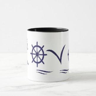Mug marine Love