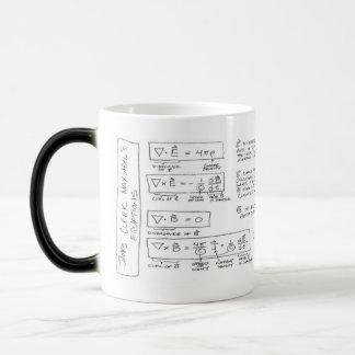Mug Maxwell s Equations Canecas
