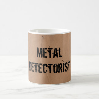 Mug: Metal Detectorist (Treasure Map) Basic White Mug