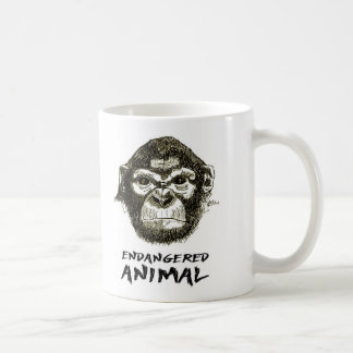 Mug Monkey - Animal in Danger of Extinction