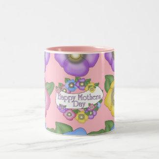 Mug Mothers Day Wishes Flowers Mugs