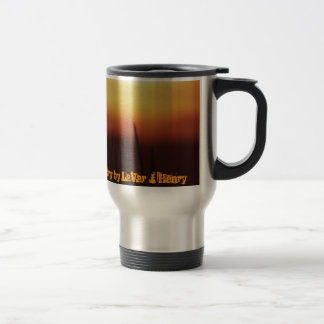Mug: My Pain, My Passion My Poetry - Customized Travel Mug