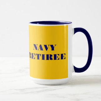 Mug Navy Retiree