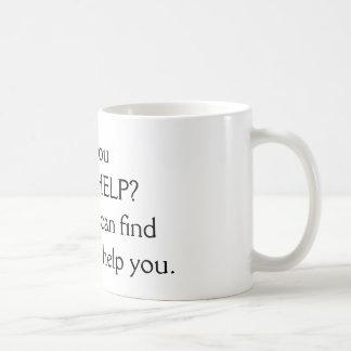 Mug - Need help? (Black)