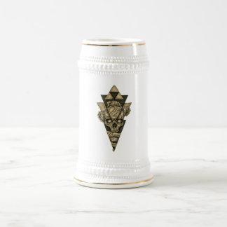"Mug of chopp ""Skull Pyramid """