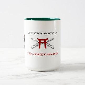 Mug Operation Anaconda Task Force  RAKKASAN