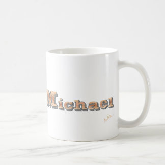 Mug personalized as Michael