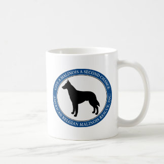 Mug, personalized & Malinois Rescue Logo Coffee Mug