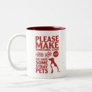 Mug Please Save Some Stray Pets