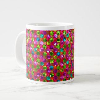 Mug Polka Dots Sparkley Jewels