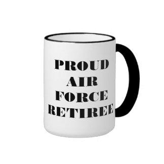 Mug Proud Air Force Retiree