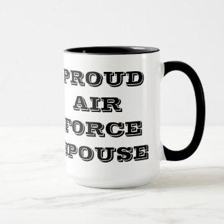 Mug Proud Air Force Spouse