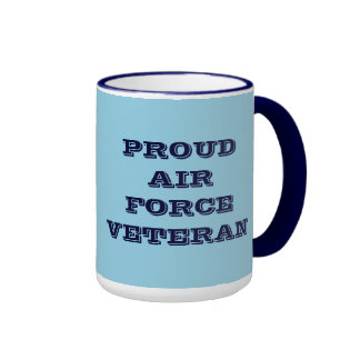 Mug Proud Air Force Veteran